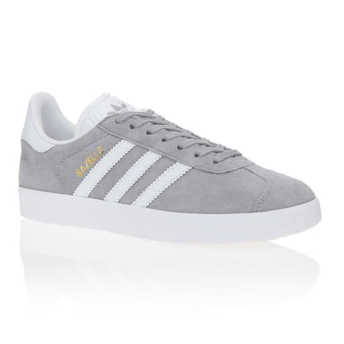 adidas gazelle blanche et grise
