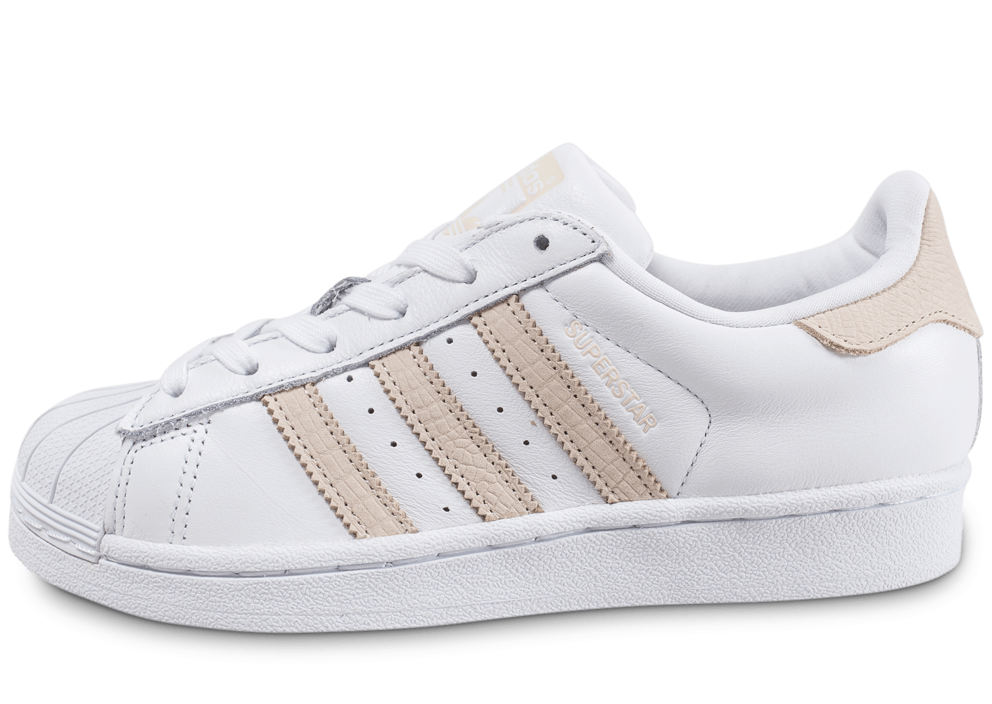 nouveaux styles 4ec26 569f0 purchase adidas superstar blanc and beige 97cef 5e798