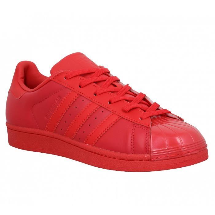 le dernier d609d 1b94d adidas superstar couleur rouge