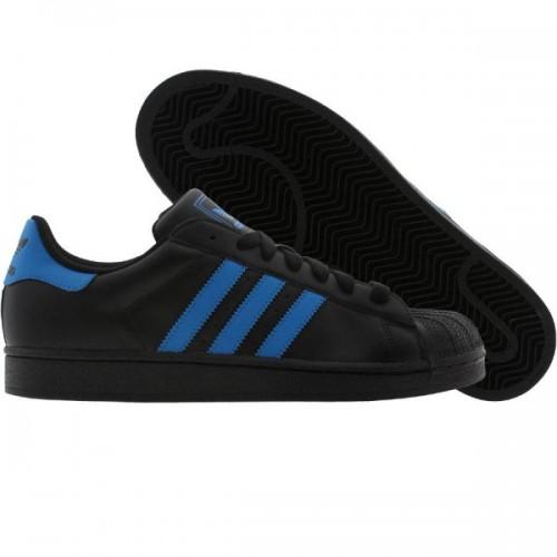 Couleurs variées 02c98 c4c85 adidas superstar noir et bleu