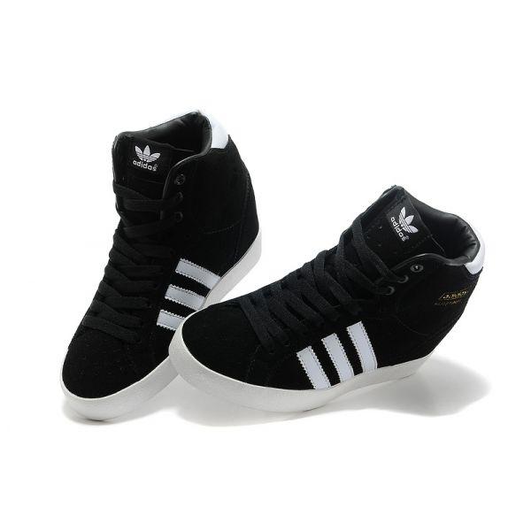 adidas compensee noir et blanche