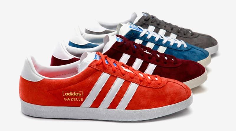 mieux aimé 2c9f0 57b06 adidas gazelle toutes les couleurs