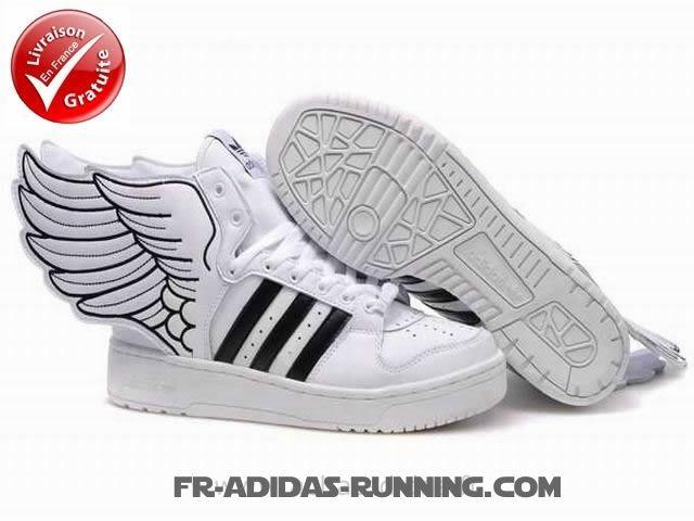 Spacieux Adidas Chaussures Élégant Jeremy Scott Js Originaux