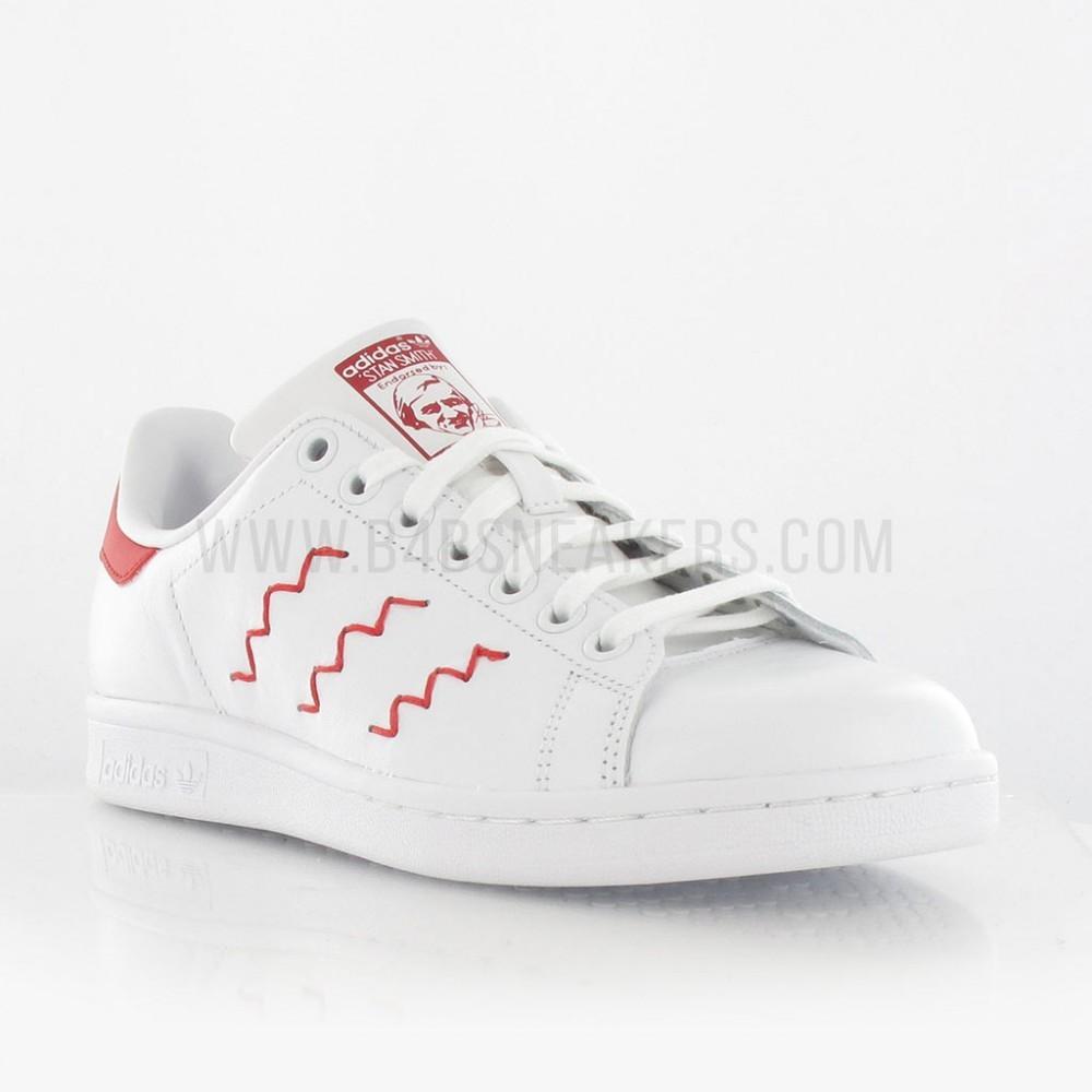 mieux aimé d9d13 01475 adidas stan smith rouge pas cher