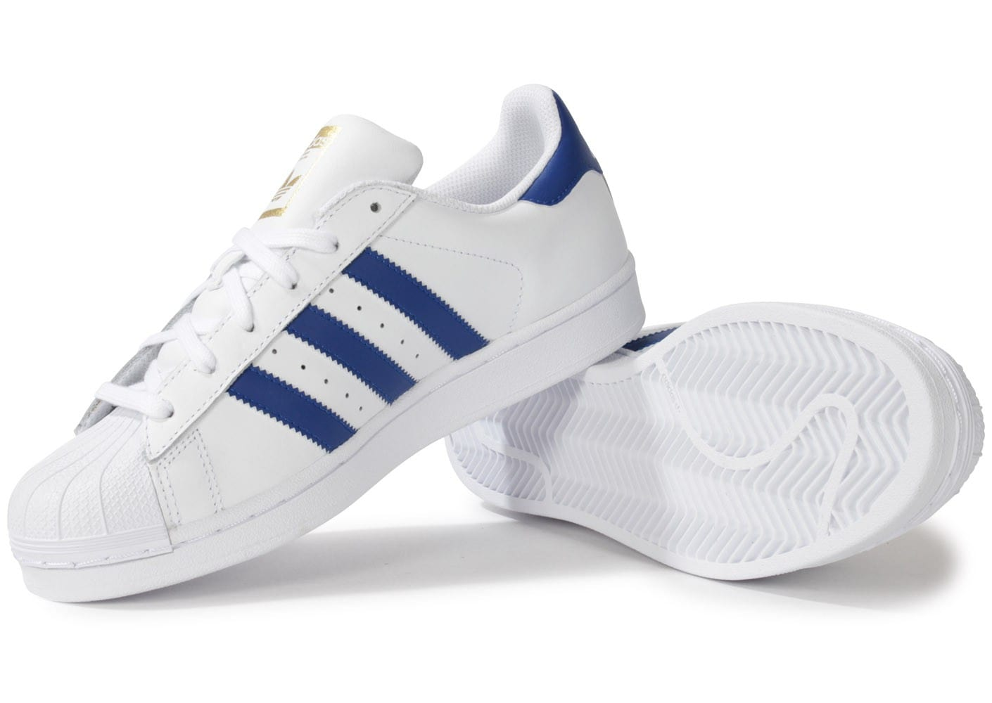 code promo 3f294 4c29c Adidas Superstar Adidas Superstar Bleu Blanc Homme 3jqAc4RL5S