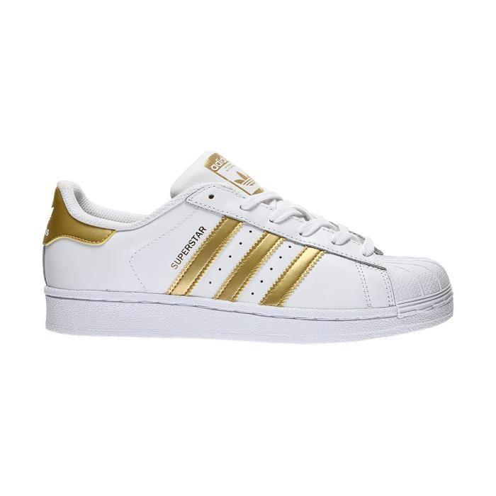 chaussures adidas superstar doré