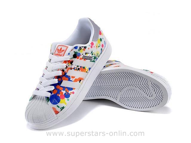 nouveaux styles 4a2d0 d3a5f adidas superstar femme color