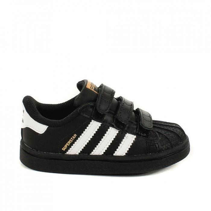 Basket adidas Originals Superstar Cadet - B25728 adidas Originals Chaussures adidas Superstar argentées look casual enfant