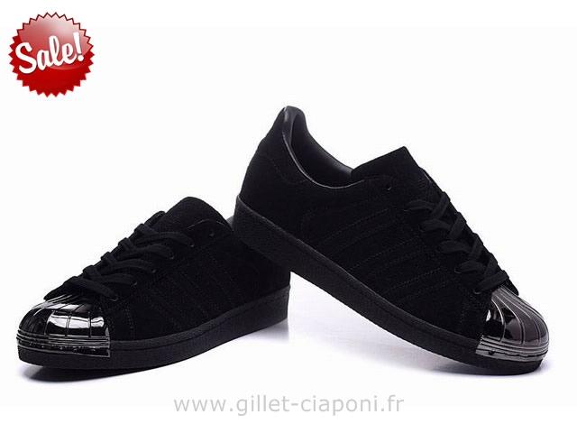 Metal Toe Superstar Adidas Noir tsQhrdC