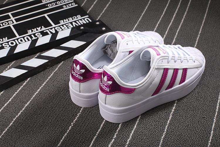 info pour e5ba6 b8964 adidas superstar metallic rose