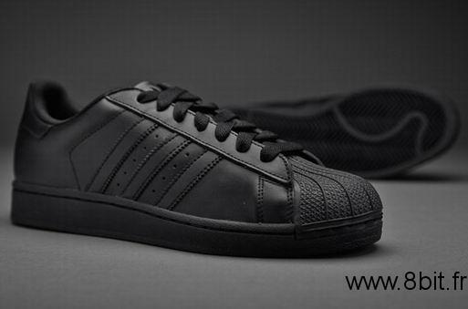 adidas superstar hommes noir