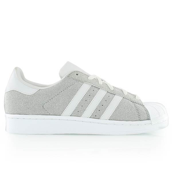 Adidas Blanc Superstar W Argent Argent Superstar W Blanc Adidas 2EIWDH9