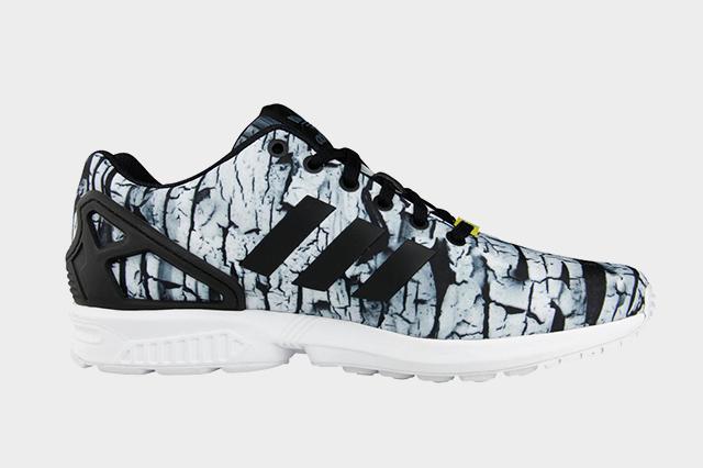 grossiste c8afd b93e5 adidas zx flux camo foot locker