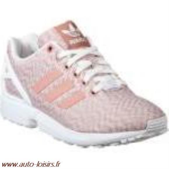 chaussures de sport bea38 5c94f adidas zx flux rose pale