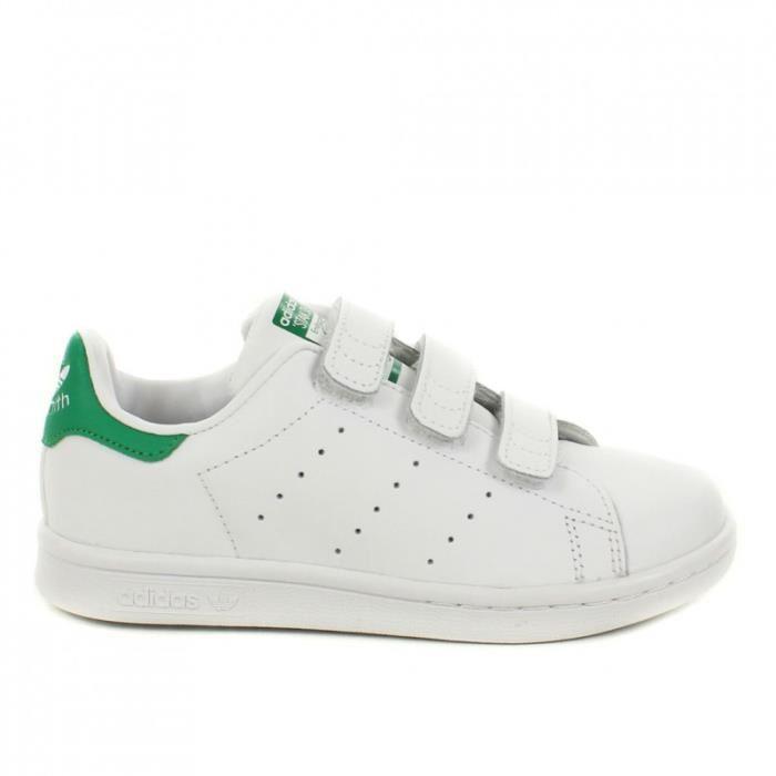 Chaussure Adidas Originals STAN SMITH CF C Blanc 4917302