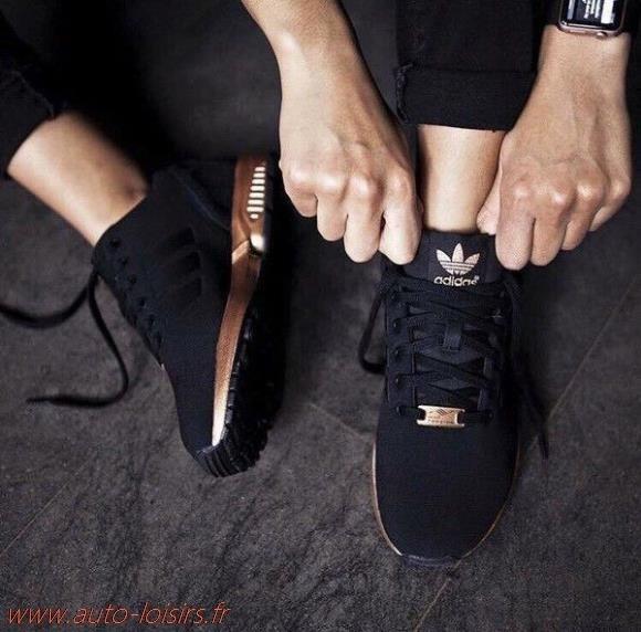 détaillant en ligne 959ec bf8ec basket adidas noir et dore