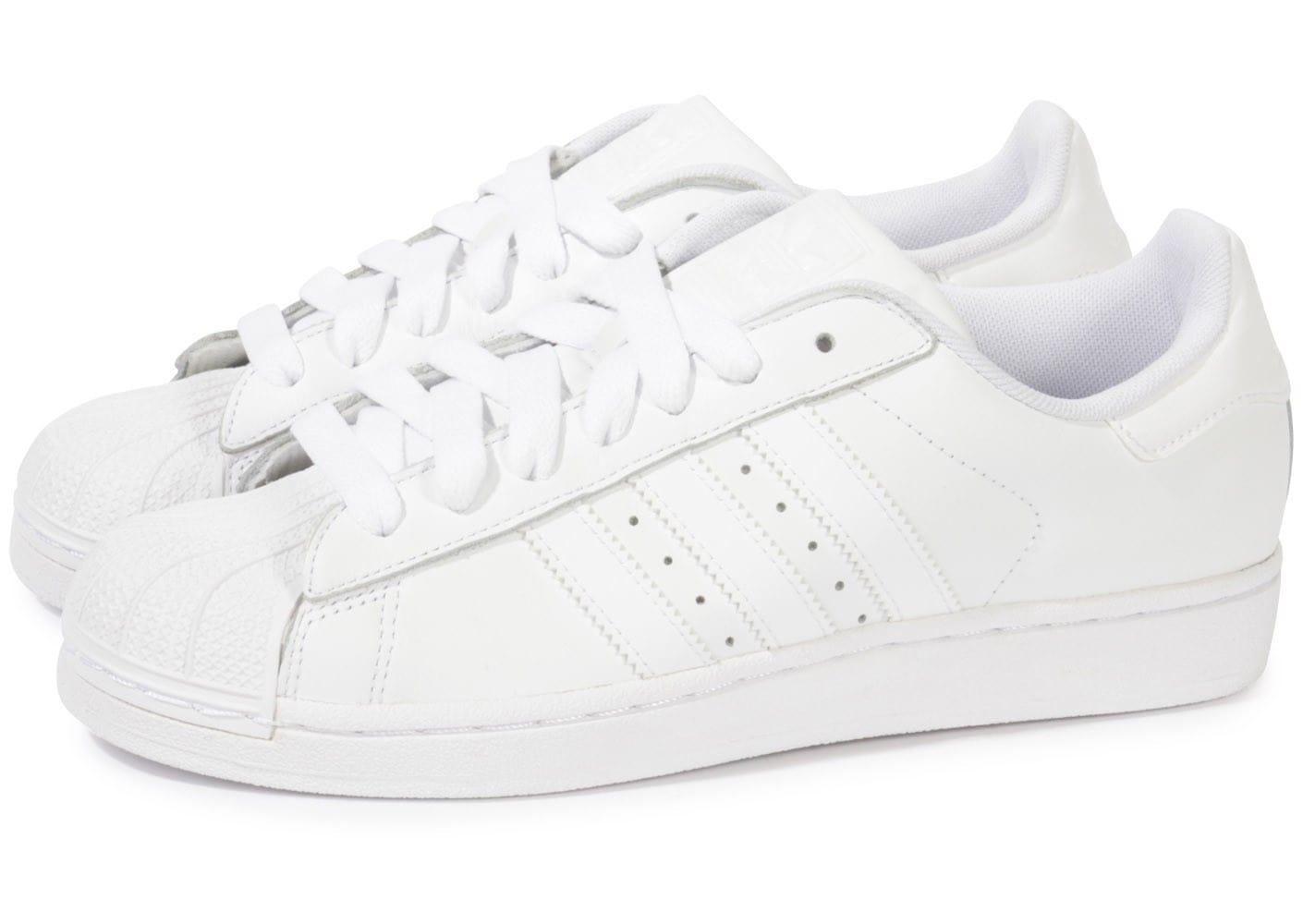 basket adidas superstar blanche