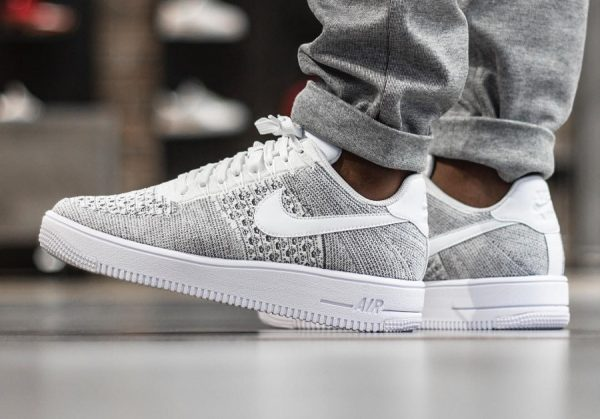 newest collection 2067d ae5bd air force one flyknit low homme 1