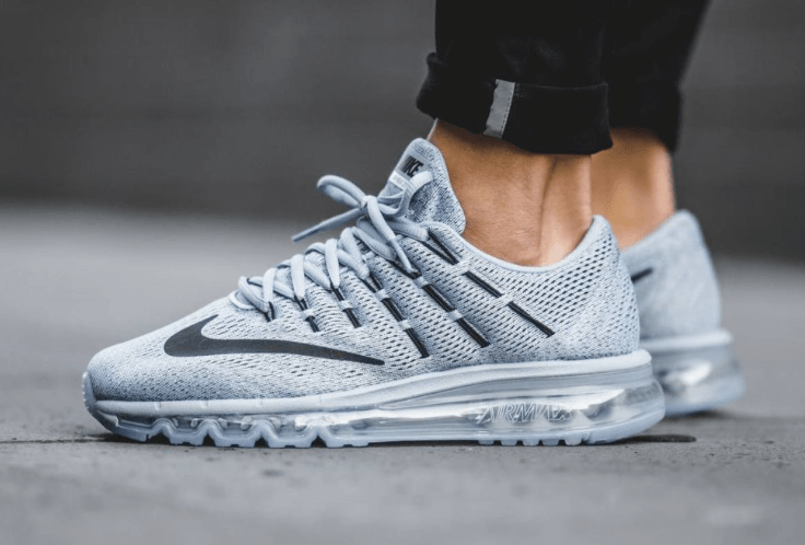 photos officielles aaf23 98dd7 air max 2016 blanche et grise