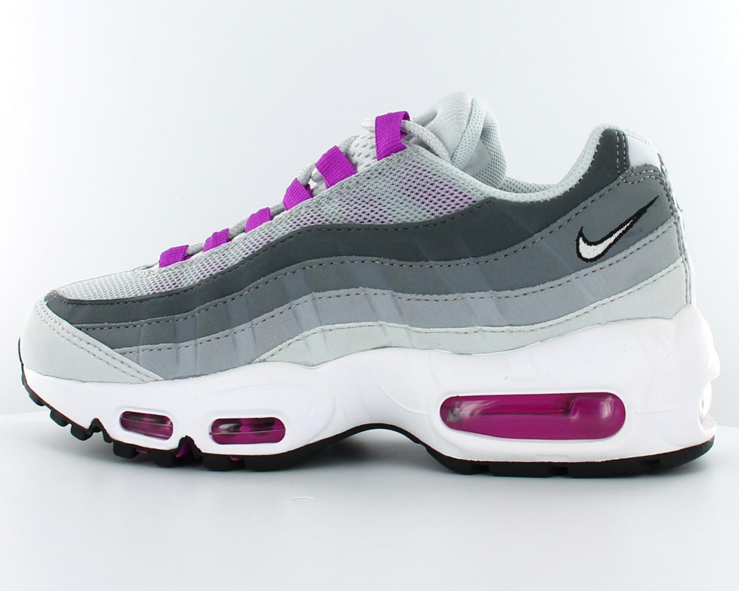 low cost new concept official photos air max 95 blanche violet