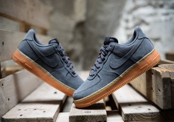 Nike Air Suede 07 1 Gris Force ZknON0P8wX