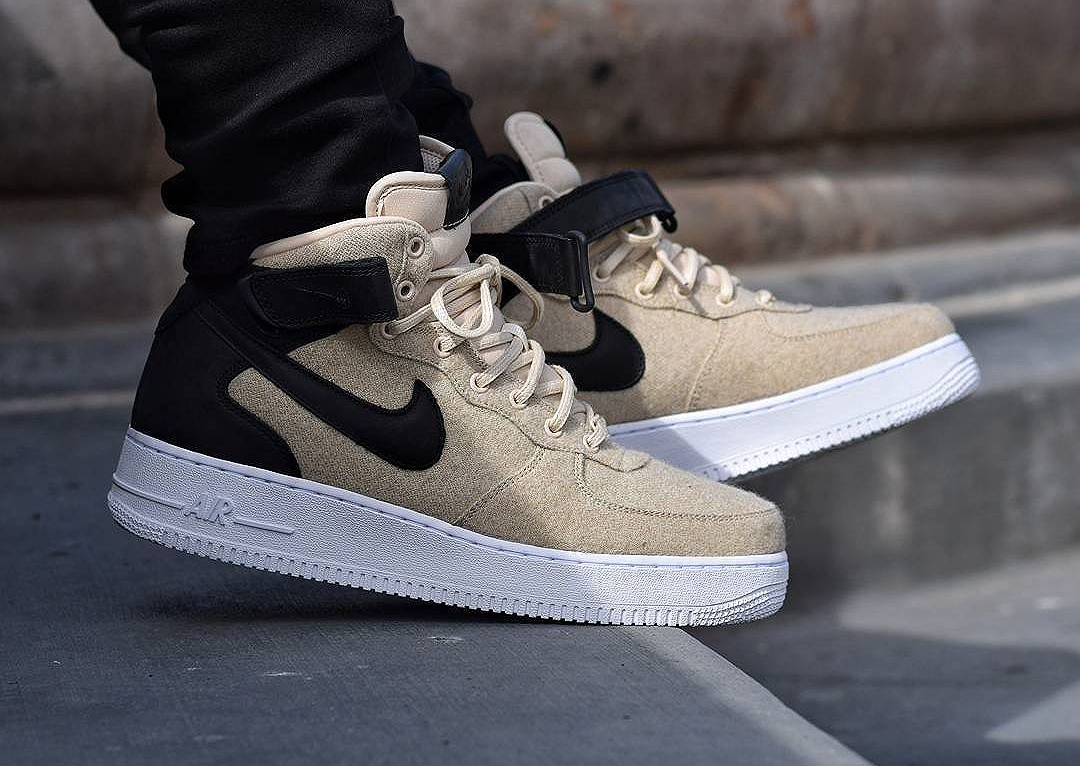 énorme inventaire af073 efcc7 nike air force one mid femme