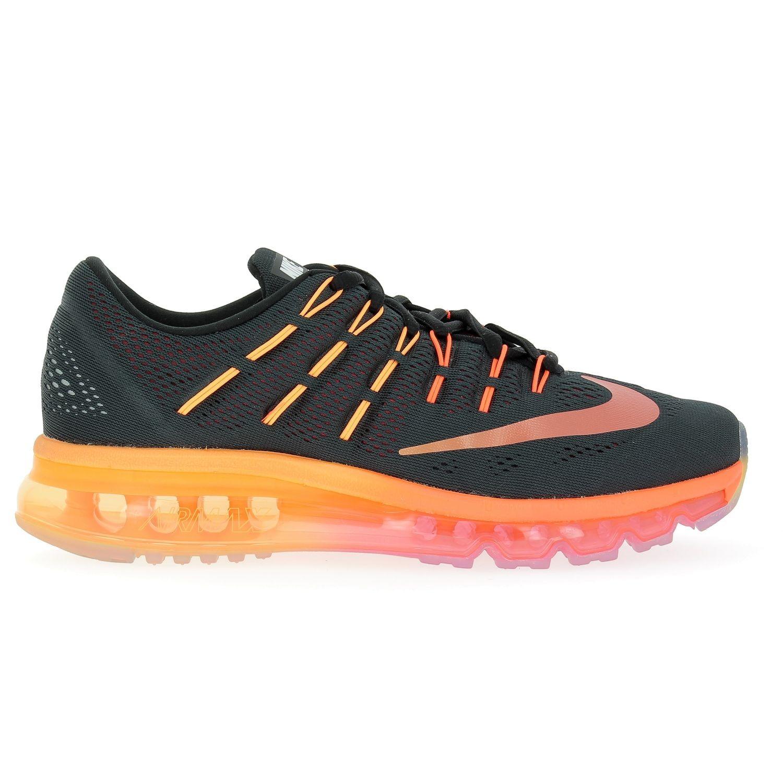 magasin d'usine b72dd 3bdef nike air max 2016 noir orange