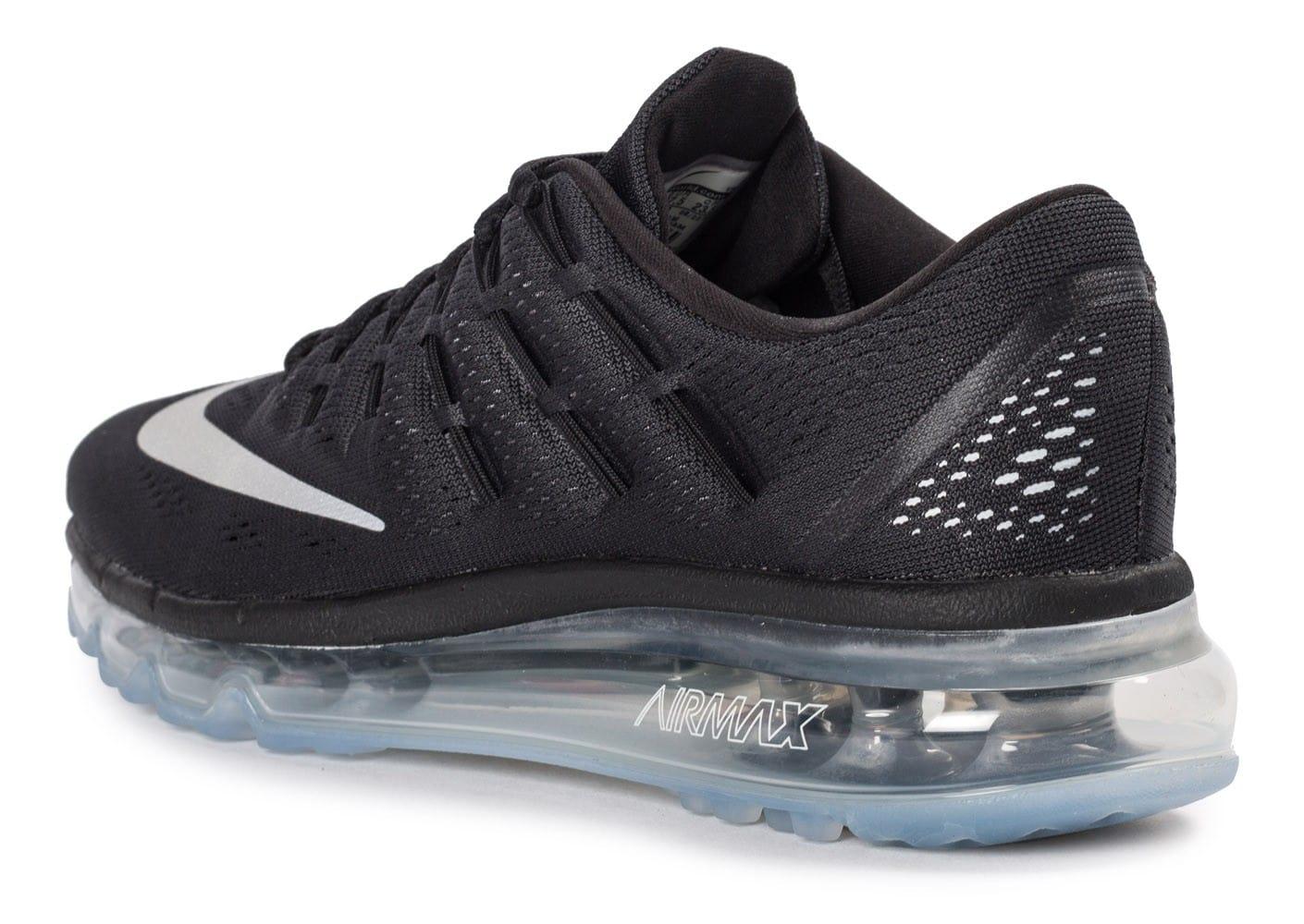 nike air max 2016 baskets chaussures noir
