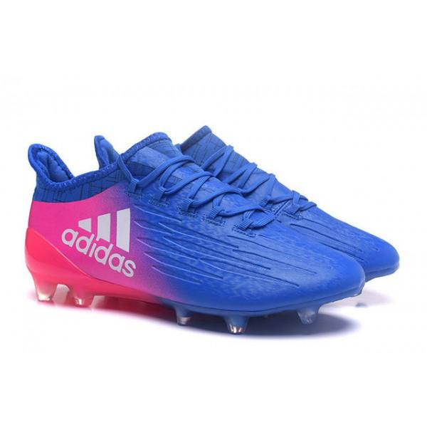 chaussure de foot adidas bleu