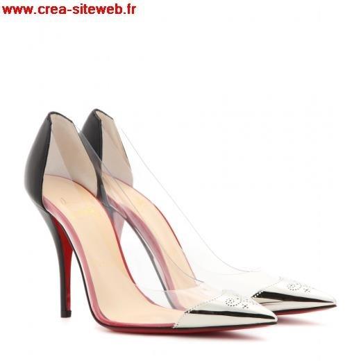 meilleures baskets b81d1 204c1 chaussure louboutin transparente