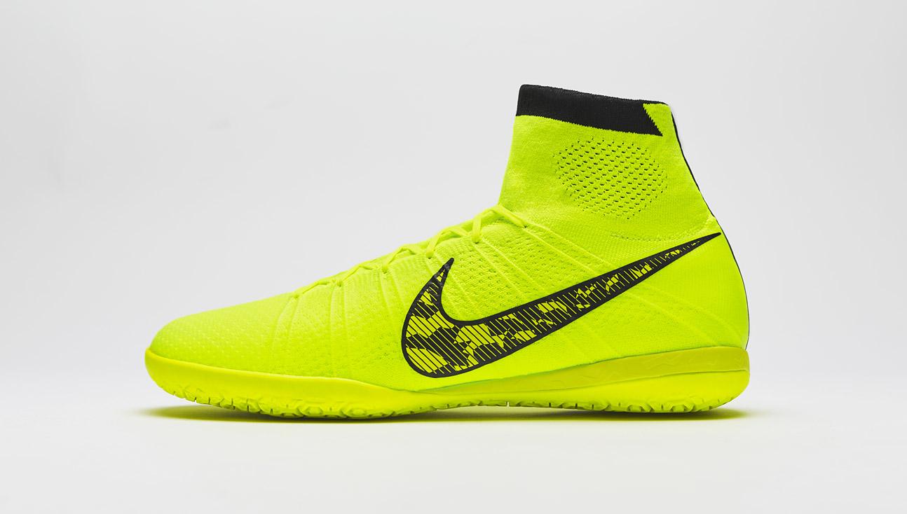 fb88381e56 Chaussure de Football - Nike - Nike Elastico Superfly Indoor - Futsal -  Salle - Gris-Blanc-Volt Chaussure de futsal Nike Elastico Finale III IC  Blue ...