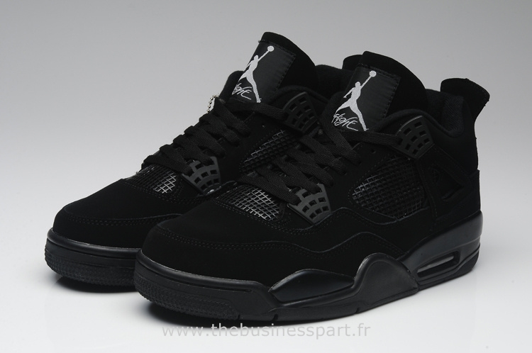 chaussures de sport 44302 a9f2c where to buy air jordan 4 tout noir 10327 adf01