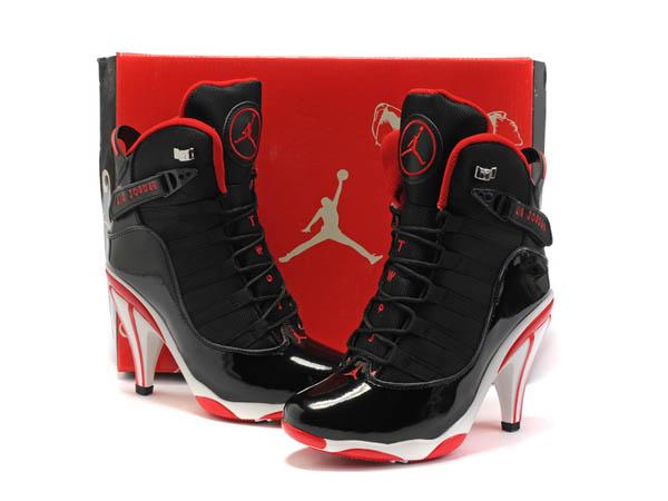 nouveau style f20d9 594ba chaussures jordan talon