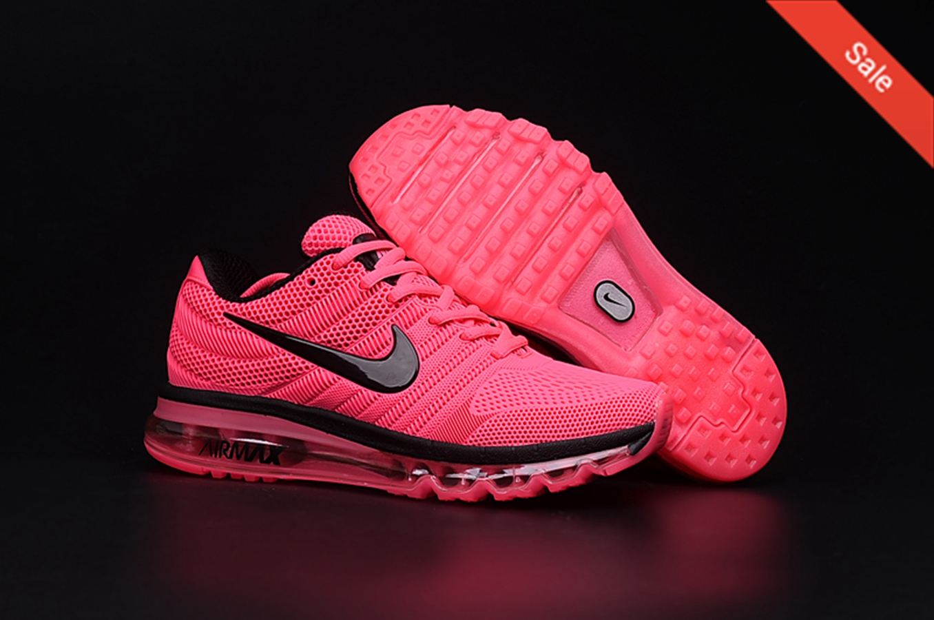 nike air max fluo roze