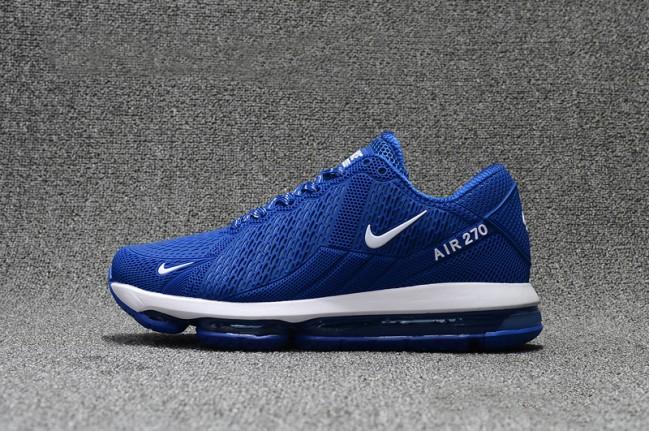 new arrival 75d11 306c5 Nike Air Max 270 Futura Homme Chaussure de Running AO1569-003 Loup Gris Photo  Bleu Foncé Gris Blanc