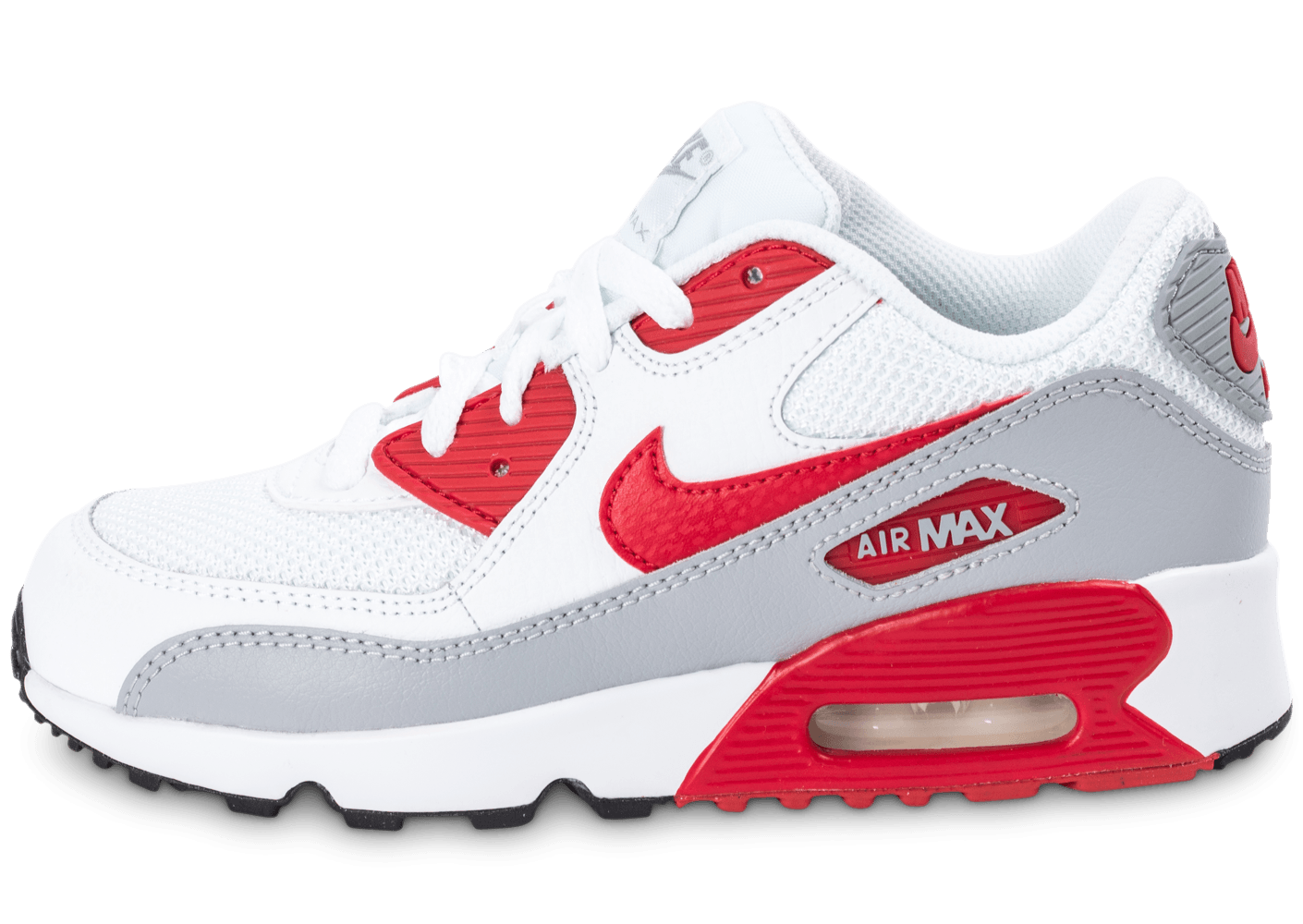 premium selection dfd37 7a65d air max 90 blanche et rouge