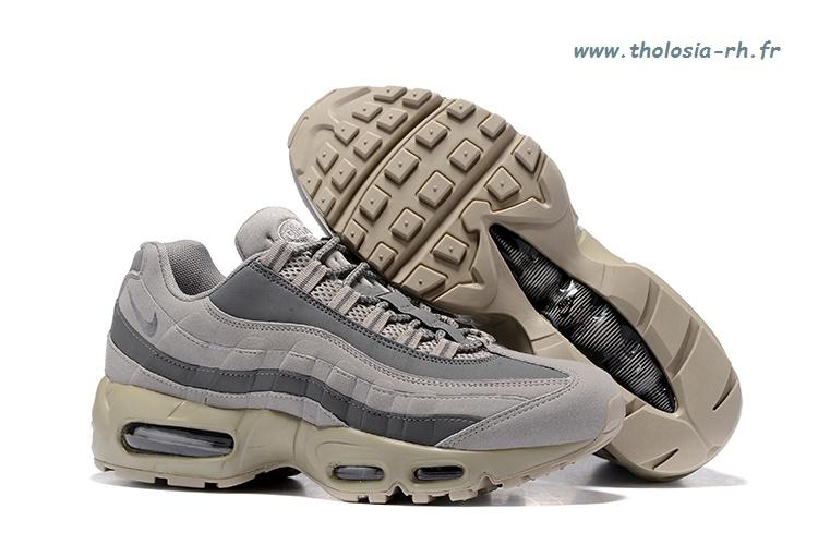 pretty nice 80561 3e3bb Nike air max 95 og  u2013 chaussure pour femme voile   beige clair   gomme  marron   beige clair b31t7478 ...