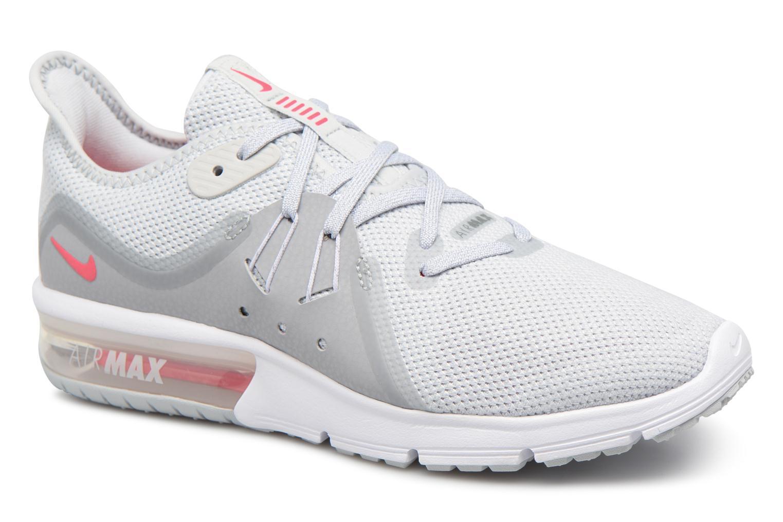 purchase cheap 38e6e 946b7 Homme Nike Air Max Sequent 2 Chaussures (Platine pure   Blanc   Wolf Gris) 852461  007 Boutique En Ligne Nike Air Max Sequent 2, Chaussures de Running ...