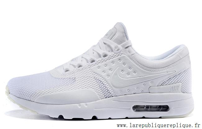 best sneakers 4673c 3cf0c Nike Wmns Air Max Zero - Chaussure Mixte Nike Sportswear Pas Cher (Taille  Femme ... Femme Nike Air Max Zero BlancNoir 857661-102. Femme Chaussures  à la ...
