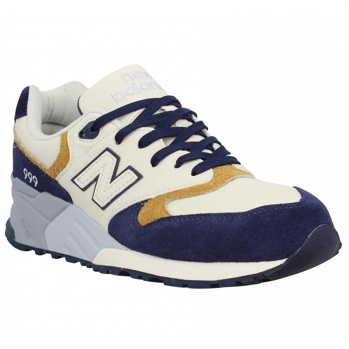 New Balance ML999 NA beige et bleu marine Chaussures