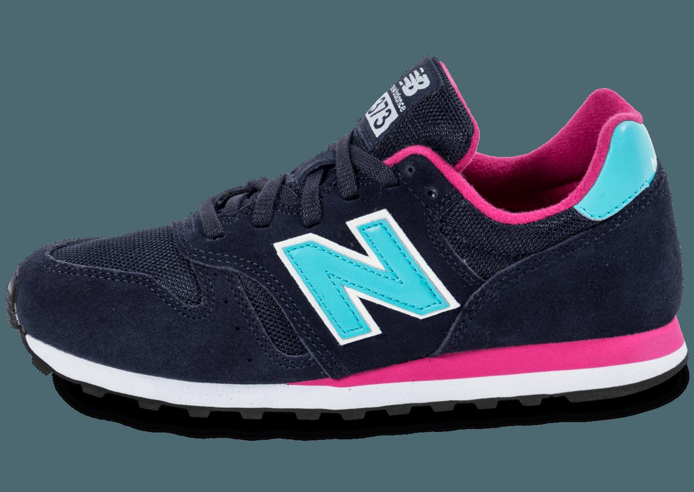 new balance femme bleu et rose