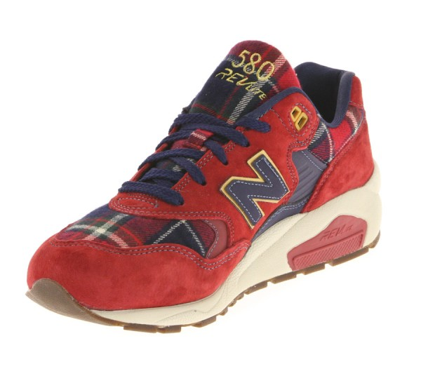 new balance 580 rouge homme