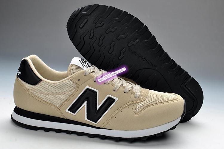 new balance beige et noir