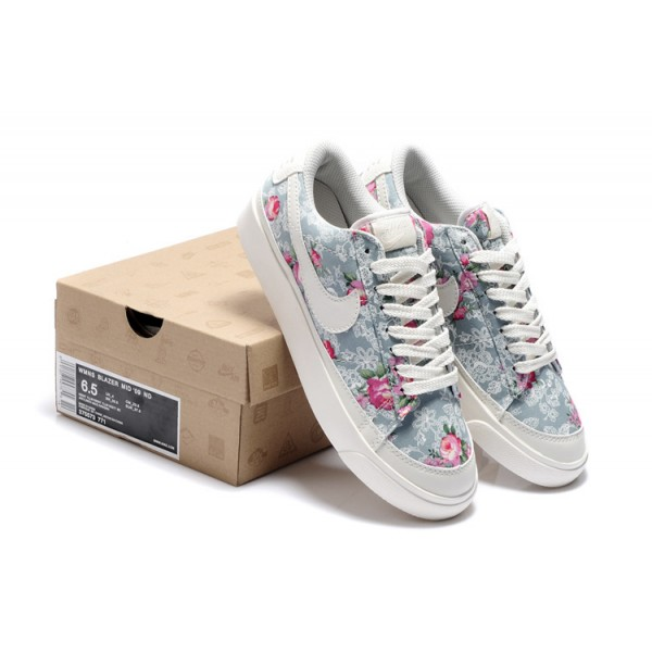 chaussure nike fleuri
