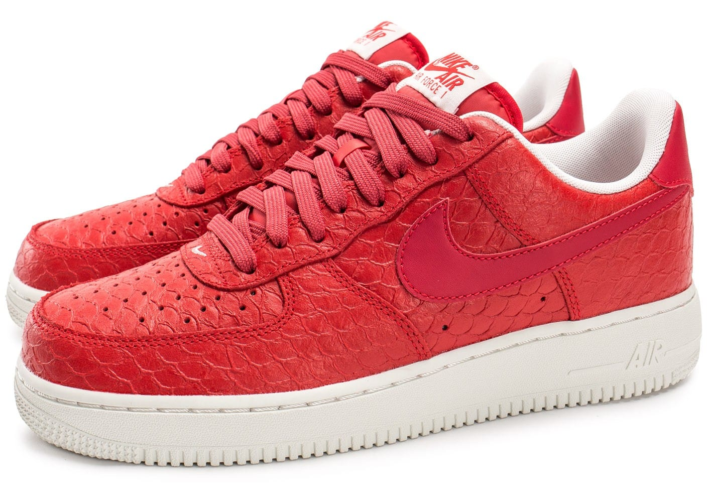 nouveaux styles 345ff af5fa nike air force 1 07 rouge