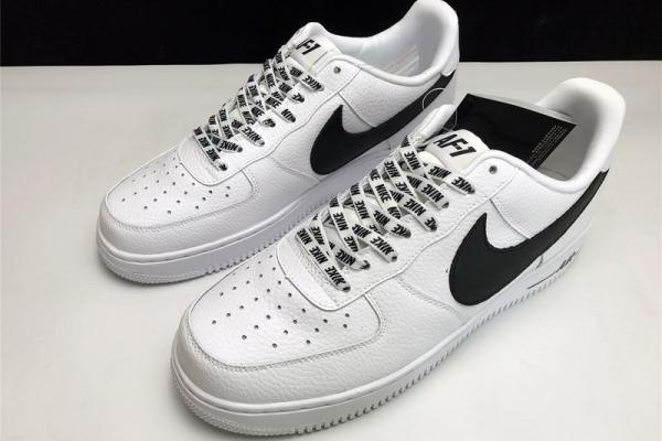 chaussure nike air force 1 noir et blanche