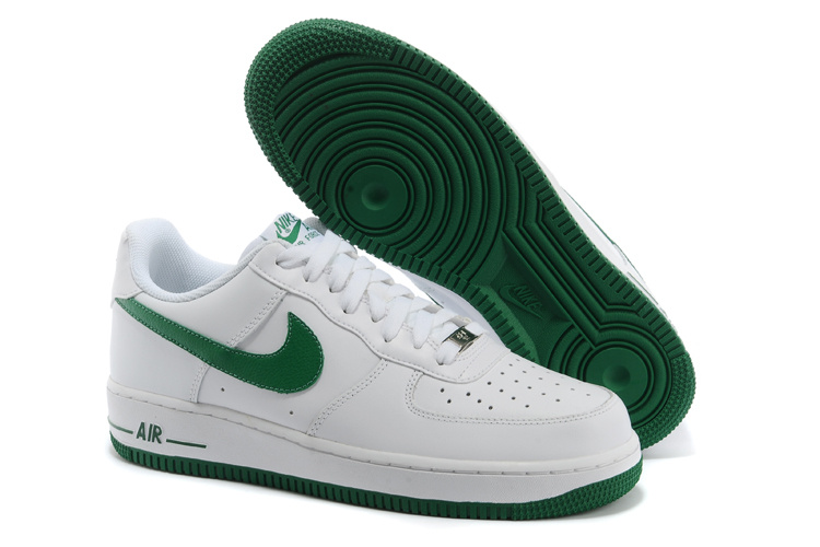 Air Force Nike Et Air Blanche Verte Air Lunar 1 Femme One