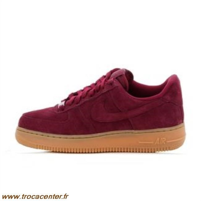 super popular e26e5 b2dec nike air force one rouge bordeaux