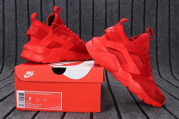 separation shoes 2934d cab39 nike air huarache rouge femme 1