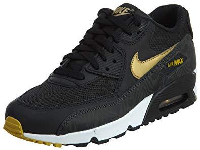 chaussures de sport f2bb1 69e17 nike air max 90 noir et dore